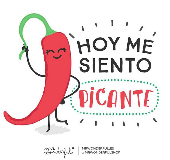 Mr Wonderful Me siento picante